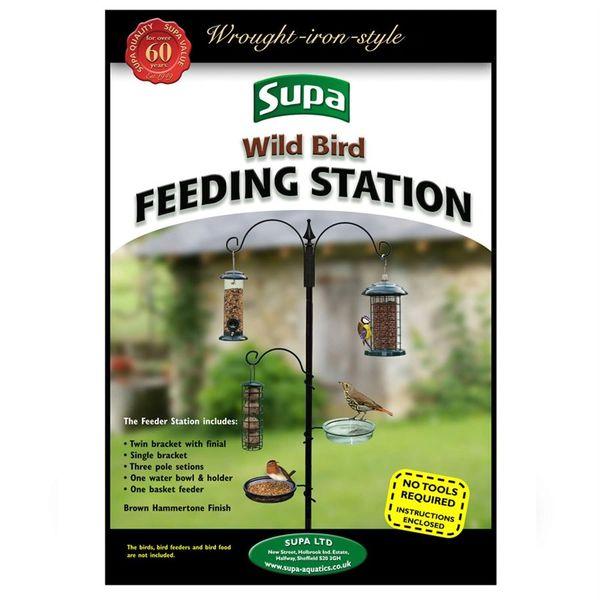 *ONLINE ONLY* Supa Wild Bird Feeding Station