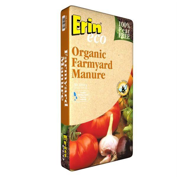*ONLINE ONLY* Erin Organic Farmyard Manure 50 Litre