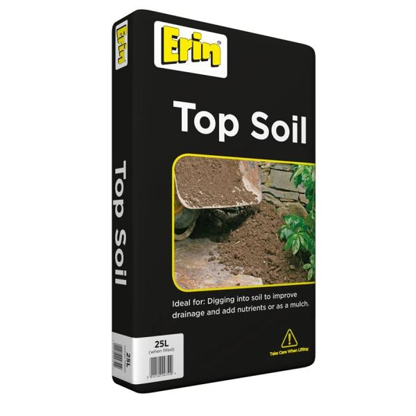 *ONLINE ONLY* Erin Top Soil 25 Litres