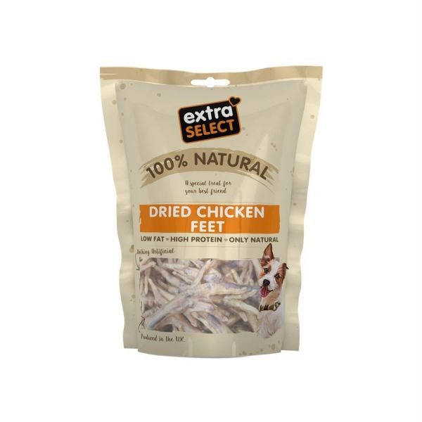 {LIB}*ONLINE & INSTORE* Extra Select Dried Chicken Feet 100g