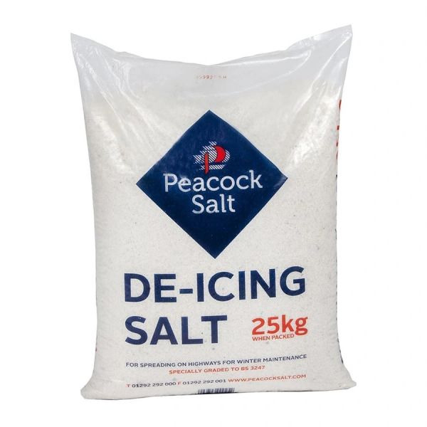 *ONLINE ONLY* Peacock Salt De-Icing Salt 25kg