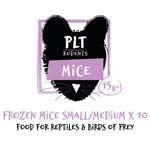 *ONLINE & INSTORE* PLT Frozen Mice Small/Medium 15g+