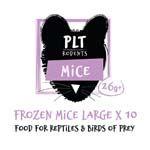 *ONLINE & INSTORE* PLT Frozen Large Mice 26g+