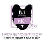 *ONLINE & INSTORE* PLT Frozen Ex-breeder Mice 35g+