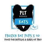 *ONLINE & INSTORE* PLT Frozen Rat Pups 4g+