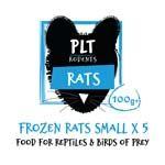 *ONLINE & INSTORE* PLT Frozen Small Rat 100g+