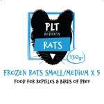 *ONLINE & INSTORE* PLT Frozen Rat Small/Medium 130g+