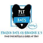 *ONLINE & INSTORE* PLT Frozen Ex-Breeder Rat 400g+