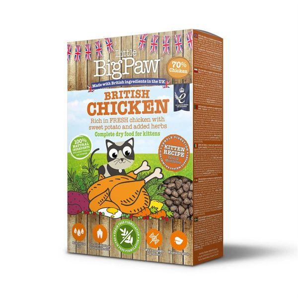 *ONLINE & INSTORE* Little Big Paw Kitten British Chicken