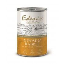 {LIB}*ONLINE & INSTORE* Eden Gourmet Goose & Rabbit 400g