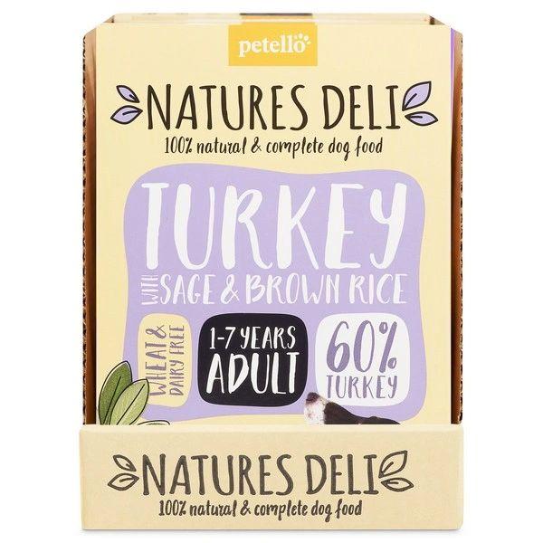 {LIB} *ONLINE & INSTORE* Natures Deli Adult Turkey 400g