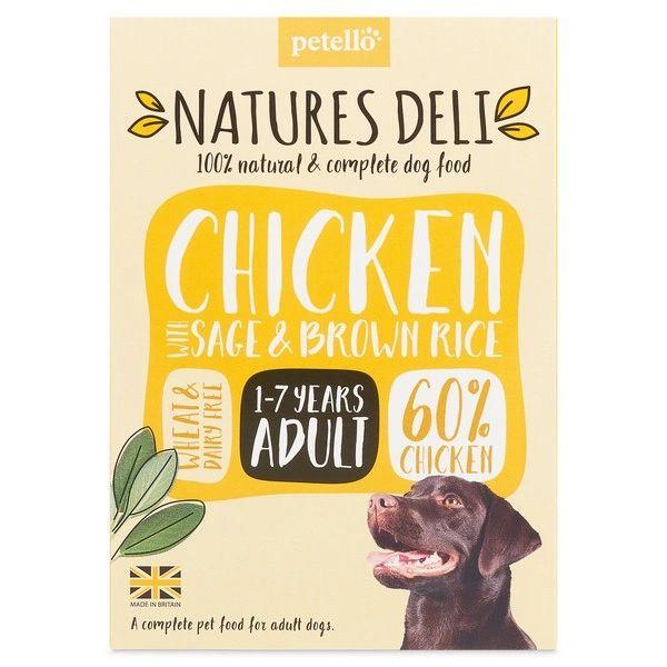 {LIB}*ONLINE & INSTORE* Natures Deli Adult Chicken 400g