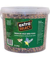 *ONLINE & INSTORE* Extra Select Premium Wild Bird Food Bucket 5 Litre