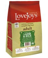 {LIB}*ONLINE & INSTORE* Lovejoys Adult Lamb & Rice
