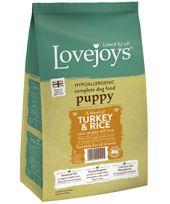 {LIB}*ONLINE & INSTORE* Lovejoys Puppy Turkey & Rice