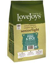{LIB}*ONLINE ONLY* Lovejoys Senior/Light Fish & Rice