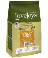 {LIB}*ONLINE & INSTORE* Lovejoys Senior/Light Turkey & Rice
