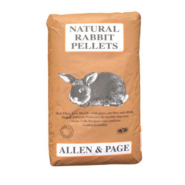 *ONLINE ONLY* Allen & Page Natural Rabbit Pellets 20kg