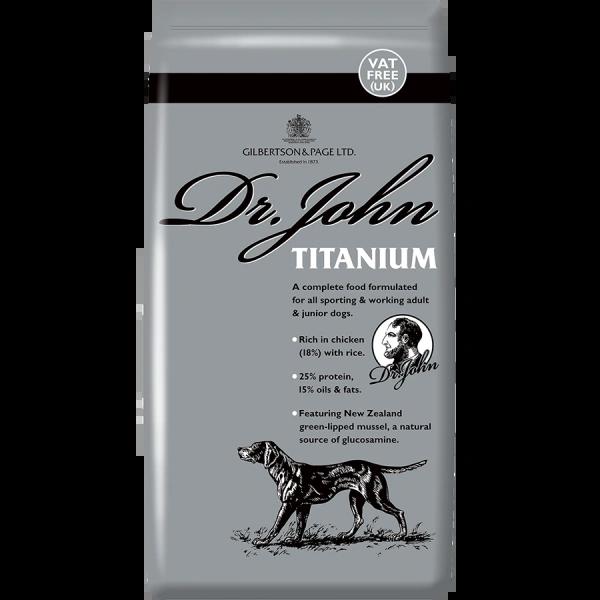 *ONLINE & INSTORE* Dr John Titanium 15kg