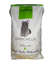 *ONLINE ONLY* Charnwood Chinchilla Pellets (Breeding and Active) 20kg