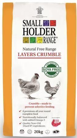 *ONLINE ONLY* Allen & Page Smallholder Range Free Range Layer's Crumble