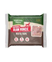 *ONLINE EXCLUSIVE* Natures Menu Frozen Raw Mince Beef & Tripe (12 x 400g)