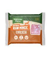 *ONLINE EXCLUSIVE* Natures Menu Frozen Natural Raw Mince Chicken (12 x 400g)