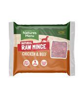 *ONLINE EXCLUSIVE* Natures Menu Frozen Raw Mince Chicken with Beef (12 x 400g)