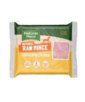 *ONLINE EXCLUSIVE* Natures Menu Frozen Raw Mince Chicken with Liver (12 x 400g)
