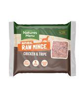 *ONLINE EXCLUSIVE* Natures Menu Frozen Raw Mince Chicken & Tripe (12 x 400g)