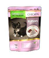 *ONLINE ONLY* Natures Menu Kitten food with Chicken 48 x 100g