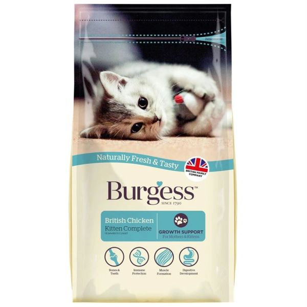 *ONLINE ONLY* Burgess Kitten (4 x 1.5kg)