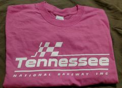 Pink & white logo T-shirt