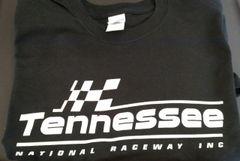 Black and white logo T-shirt