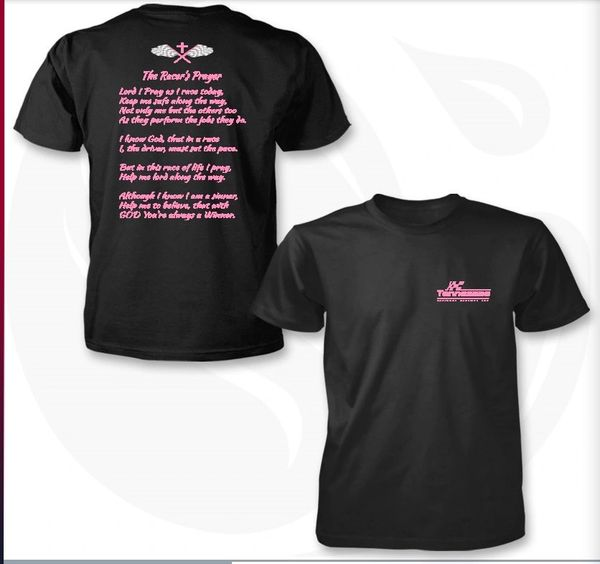 Racers Prayer Black & Pink