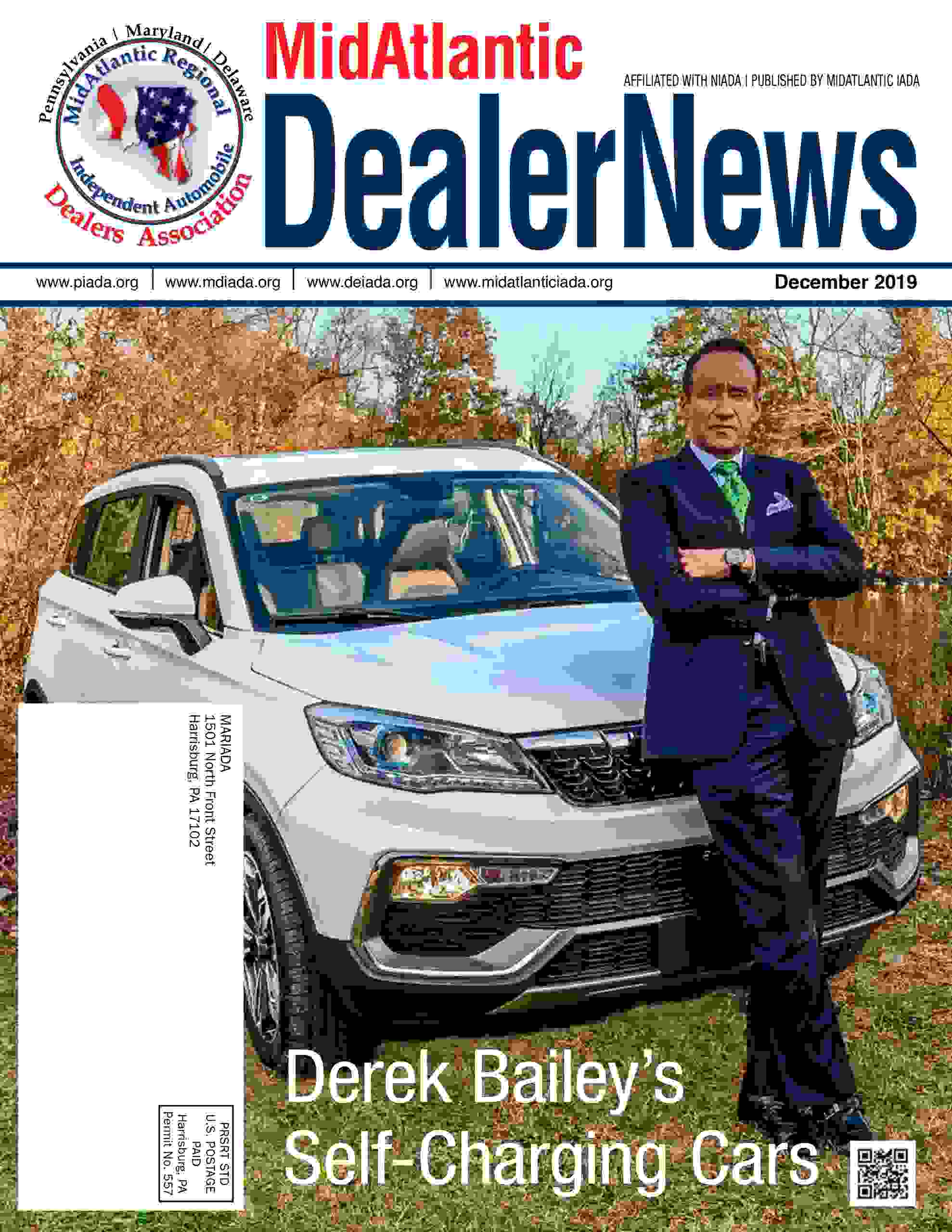 Article on Derek Bailey, CEO of Derek Automotive Technologies, and the new AVANI SUV
