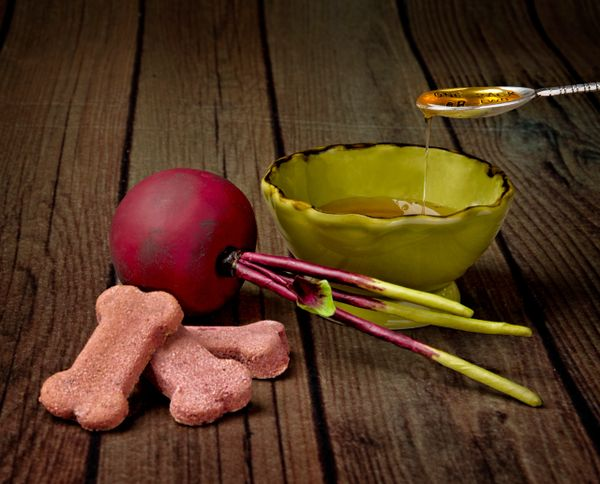 Honey & Beet dog treats