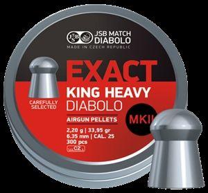 JSB Exact King Heavy .25 Mk2