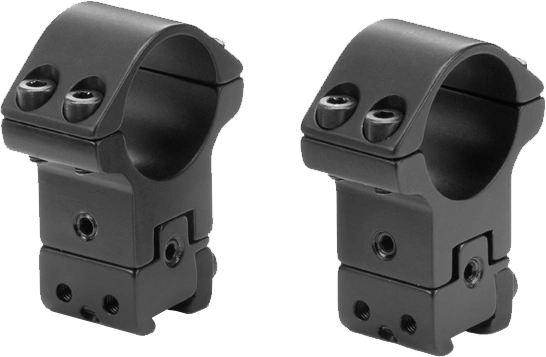 Sportsmatch ATP-65 2-Pc 1 Inch Fully Adjustable Extra High Scope Mounts