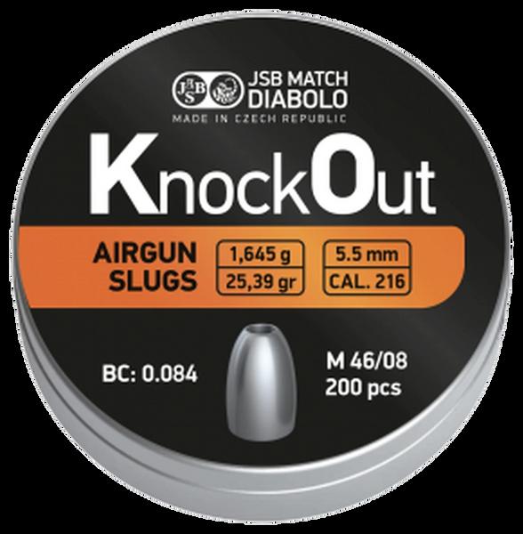 JSB 25.39 .216 Knock Out Slugs