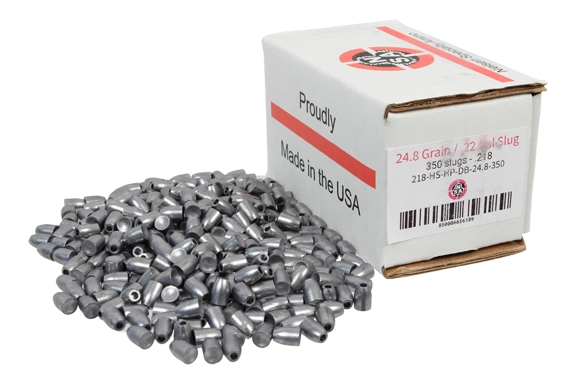 Nielsen Specialty Ammo .217 Caliber 24.8 Grain Hollow Point Dish Base