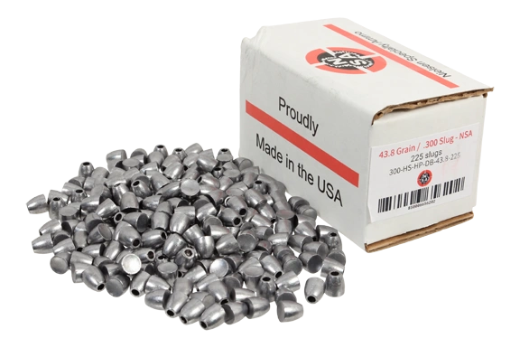 Nielsen Specialty Ammo .30 Caliber 43.8 Grain Hollow Point Dish Base
