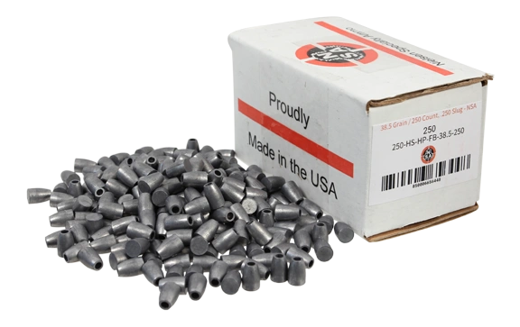 Nielsen Specialty Ammo .250 Caliber 38.5 Grain Hollow Point Flat Base