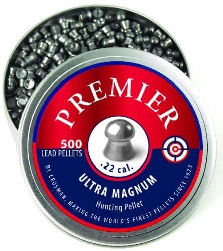 Crosman Premier Ultra Magnum Lead Pellets (500-Count)