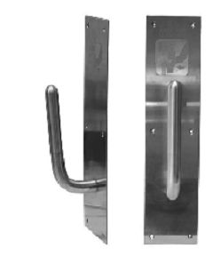 SanitGrasp hygienic door handle