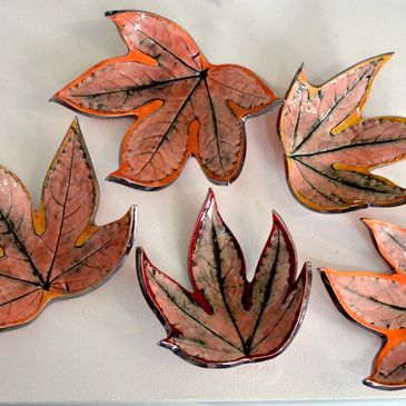 Sonya Ceramics Leaf Dishes