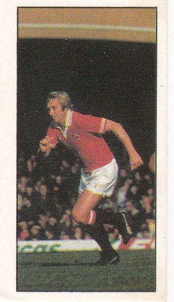 Football 1979-80 No. 01 Jimmy Greenhoff (Manchester Utd)
