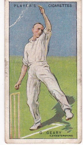 No. 15 - G Geary (Leicestershire)
