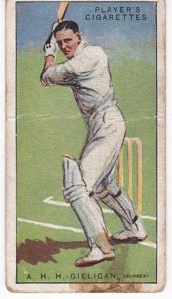 No. 16 - A H H Gilligan (Sussex)