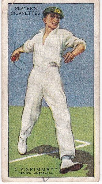 No. 18 - C V Grimmett (S Australia)